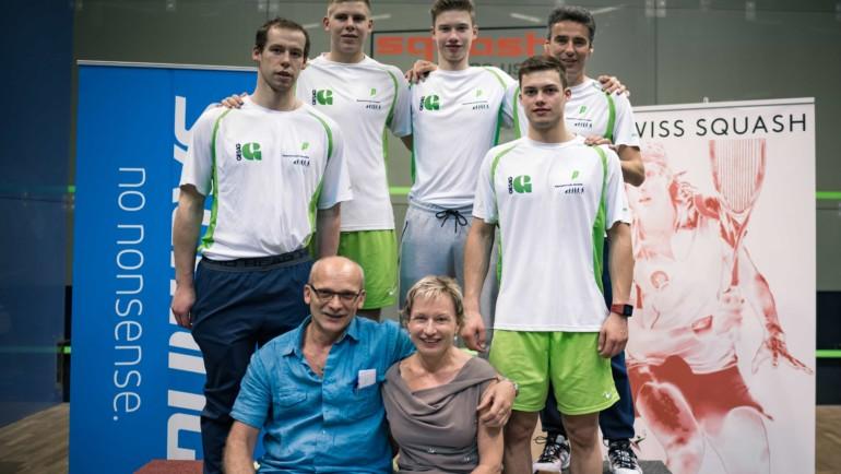 Silbermedaille bei den NLA Playoffs in Uster