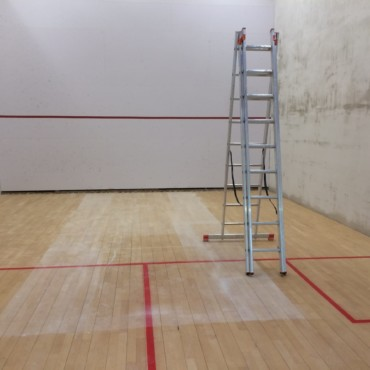 Sanierung Squash-Center