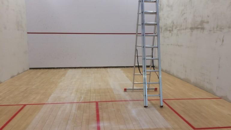 Sanierung Squash-Center